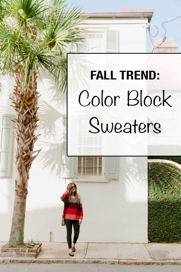 Fall Trend: Color Block Sweaters | Chasing Cinderella