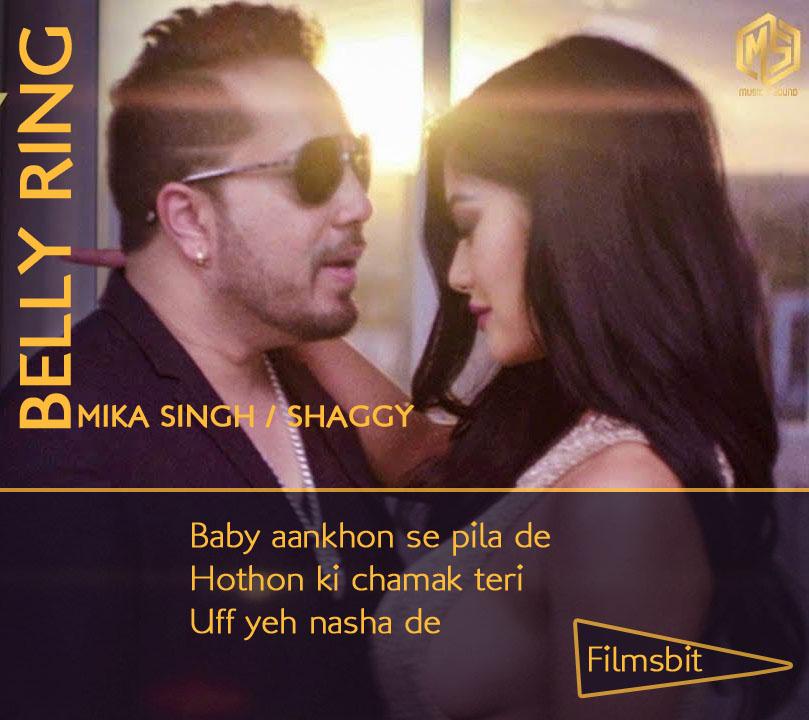 Belly Ring Full Song Lyrics - Mika Singh feat Shaggy - New Hindi Song 2019