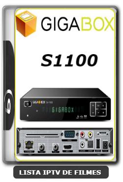 Gigabox S1100 Nova Atualização Modificada SKS 61w ON - 22/02/2020