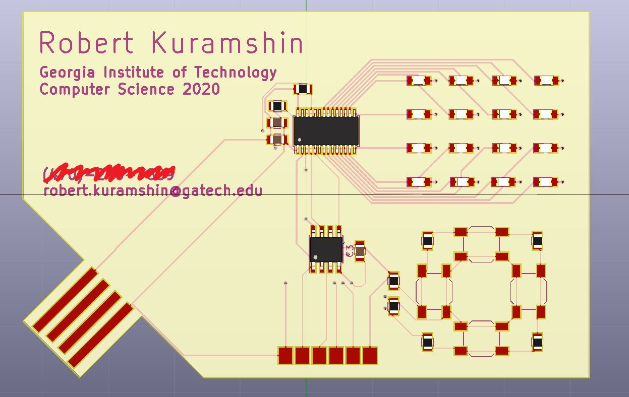Rob's Electronics Projects Blog: A Personalized Graphic