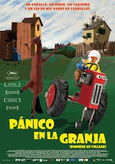 Cartel: Pánico en la granja (2009)
