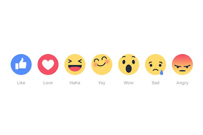 New Facebook Reaction Buttons - David Milberg