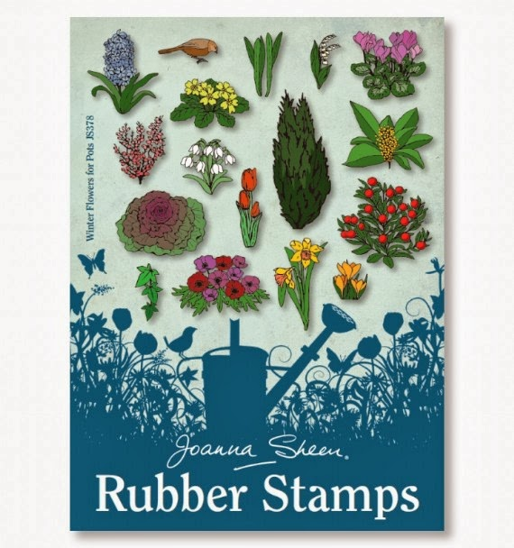 Joanna Sheen Stamps - Winter Flowers for Pots