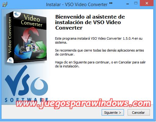 VSO Video Converter v1.5.0.4 Multilenguaje ESPAÑOL