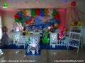 Tema A Pequena Sereia para decoração de festa de aniversário infantil de meninas - ornamentação de mesa infantil