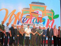 Tingkatkan Promosi, Wali Kota Launching Icon Kota Medan