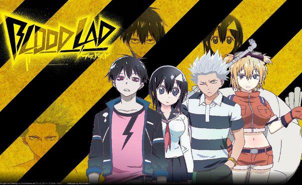 Blood lad - Top Anime Overpower (Main Character Strong from the Beginning)