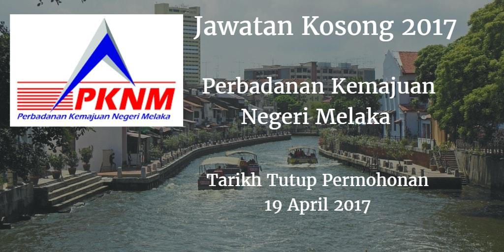 Jawatan Kosong PKNM 19 April 2017