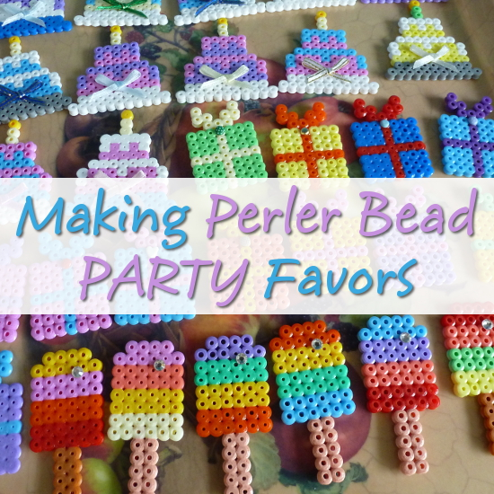 Perler Bead Party Favors: Ideas and Designs for Making Batches of Fused Bead Patterns