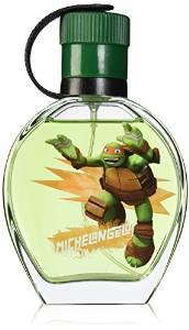 Marmol & Son Teenage Ninja Turtles Michelangelo Perfume for Children, 3.4 Ounce