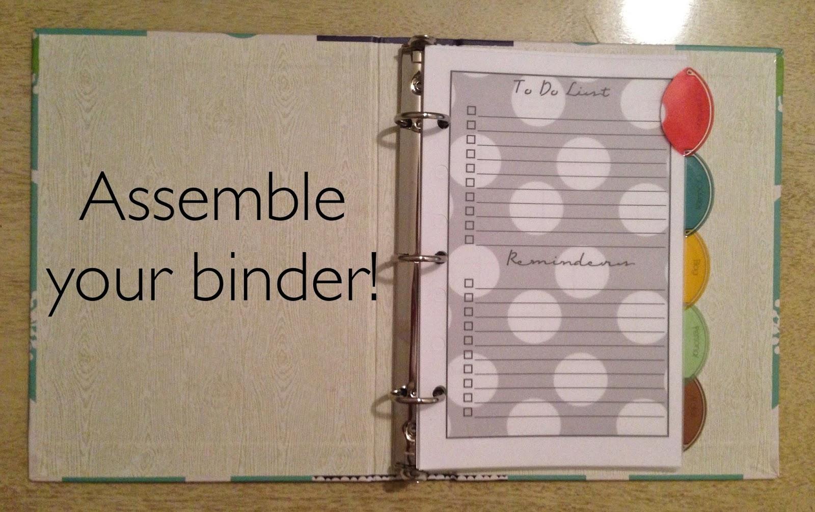 mini binder templates - Hizir kaptanband co