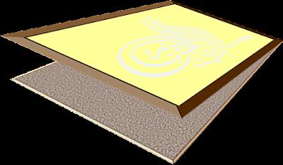 Cara Membuat Kaligrafi pasir