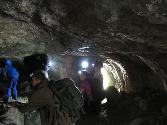 Salka wstępna w Jaskini Mylnej.