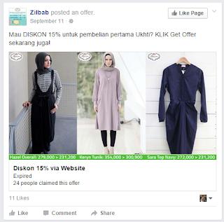 contoh iklan produk pakaian