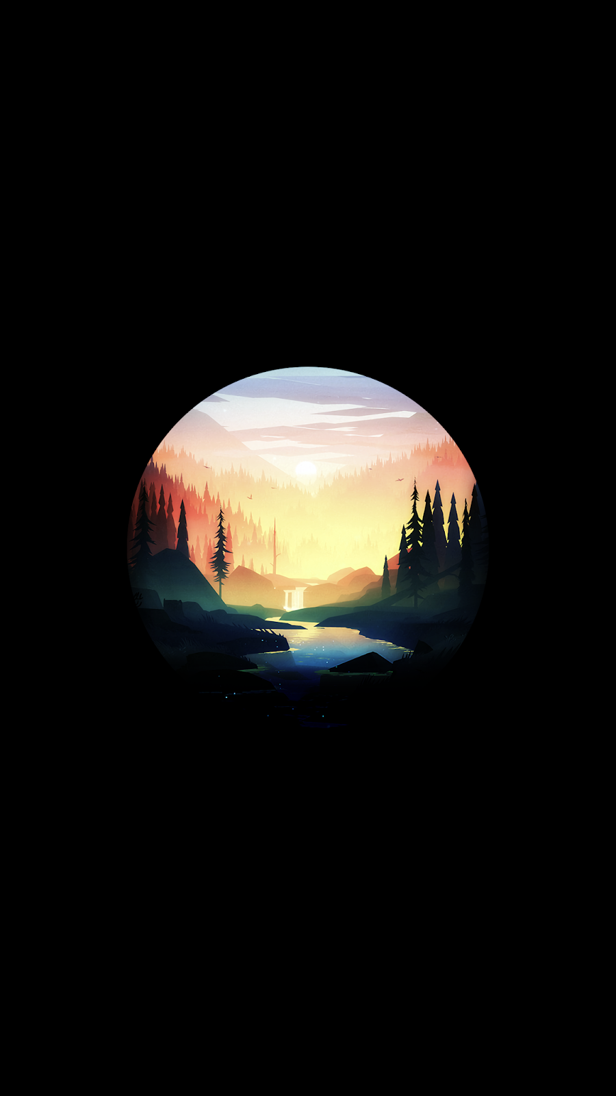 Sunrise AMOLED
