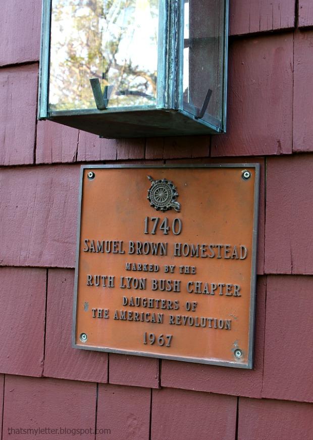 historical plaque antique home