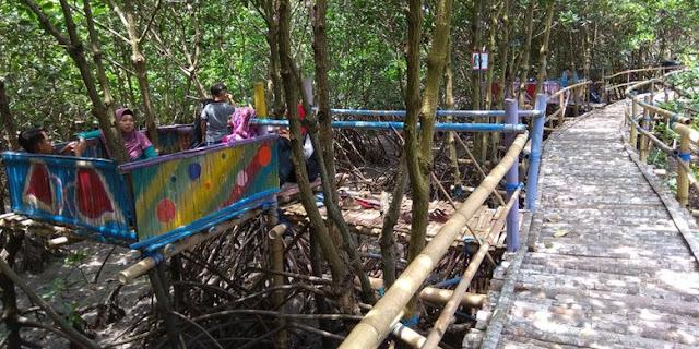 Hutan mangrove Kili-Kili, Muncar, Banyuwangi.