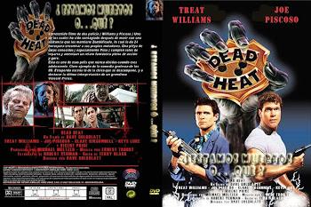 Carátula dvd: Estamos muertos... ¿o qué? (1988) (Dead Heat)