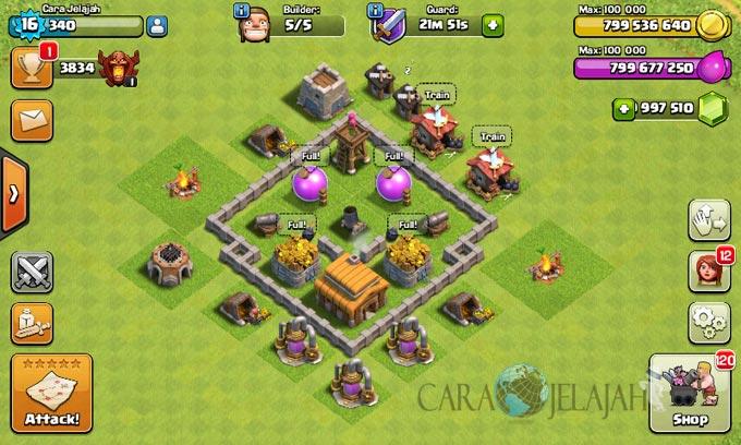 Desain Base Town Hall 3 Terbaik Dan Terbaru Clash Of Clans 26
