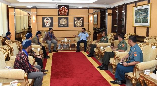 Panglima TNI Terima Audiensi Ketua Umum GMKI