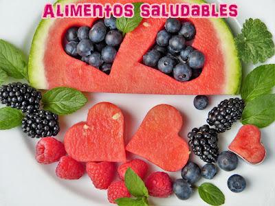 Alimentos saludables