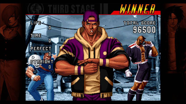 American sports team King of fighters
