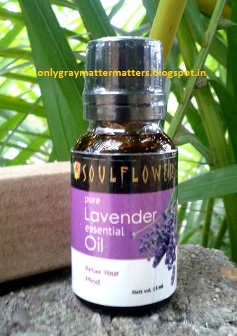 Soulflower Lavender Essential Oil India