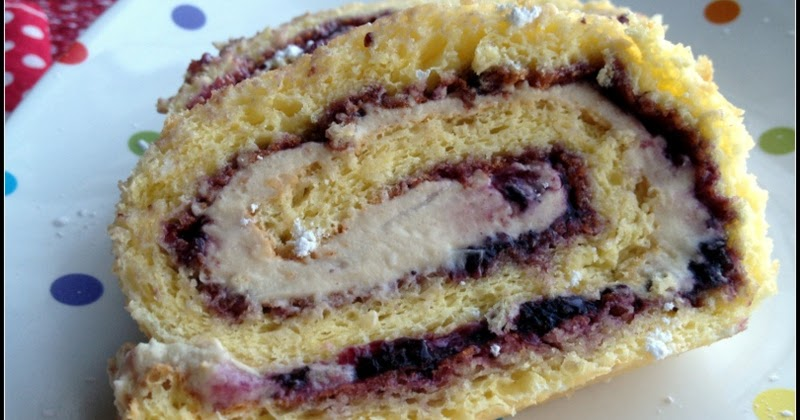 Jelly Roll Sponge Cake Recipe
