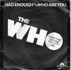 The Who - Who Are You - single - cover