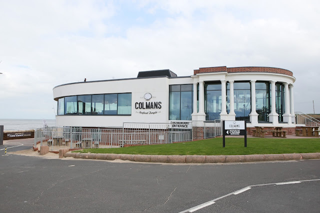 Exterior shot, colemans seafood temple, south shields, seafood in the north east of england