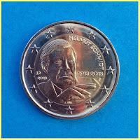 Alemania 2018 2 Euros Helmut Schmidt