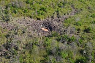 Lokasi Puing Pesawat Jet Tempur Hawk Malaysia