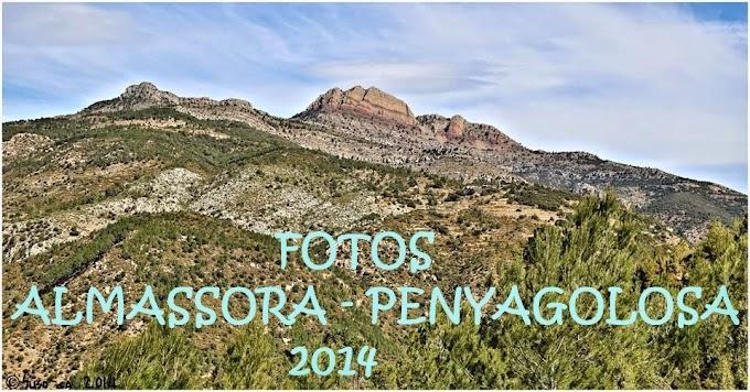 FOTOS ALMASSORA - PENYAGOLOSA 2014