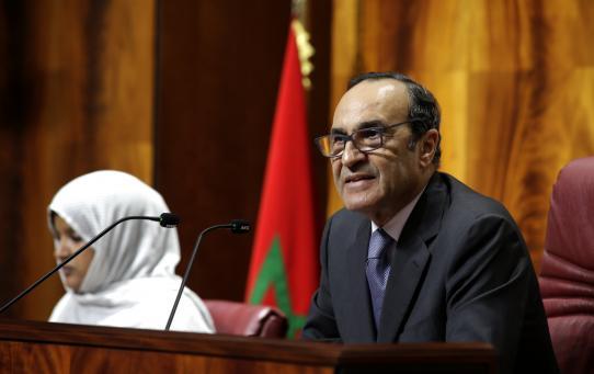"""الاتحاد الاشتراكي """"يتقاتل"""" من أجل بقاء المالكي رئيسا لمجلس النواب"""