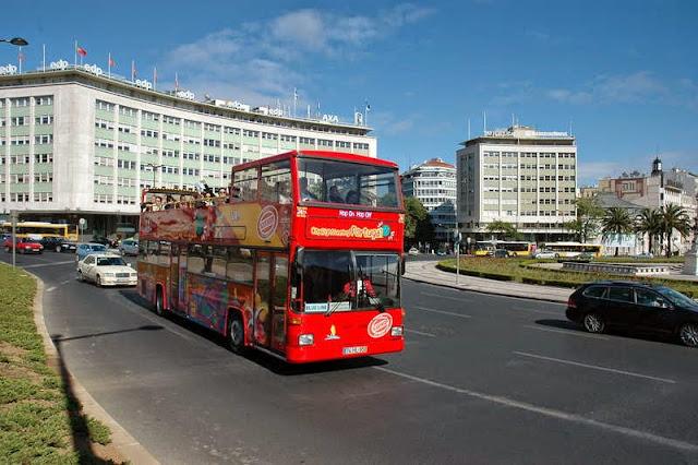 Ônibus turístico Lisboa Sightseeing em Lisboa