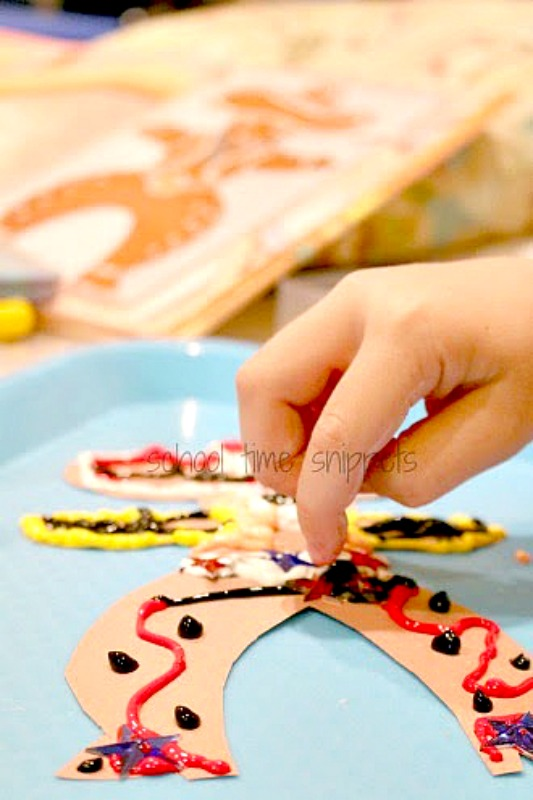 Gingerbread Cowboy Craft Activity