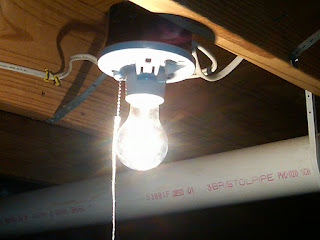 online store e1f76 566b6 Home Addition: Installed a New Pull Chain Light Fixture ...