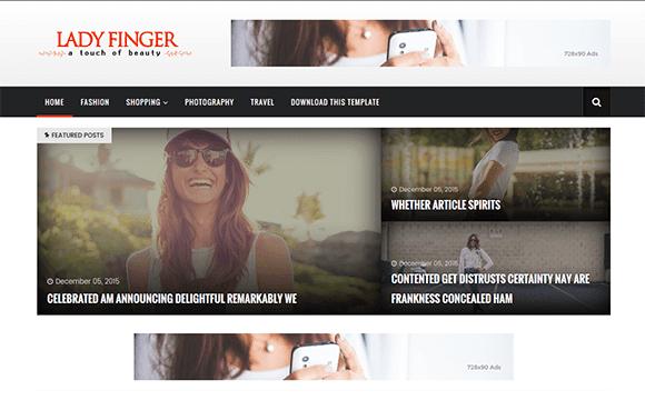 jasa situs web blog promosi modeling