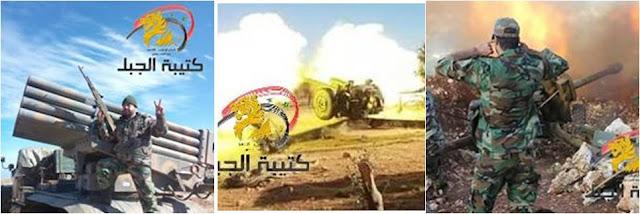 ΠΕΠ και πυροβόλα της οργάνωσης Τάγμα «Προφήτης Younis»