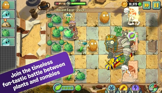 Plants vs Zombies 2 Apk + Obb Data | Full Version Pro Free Download