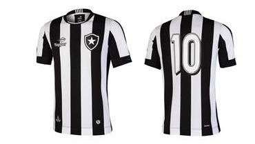 Nova camisa 1 do Botafogo desenvolvida pela Topper Imagens  Divulgação bbf3f97698c57
