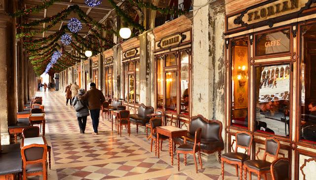 Кофейня Флориан - первая кофейня в Италии