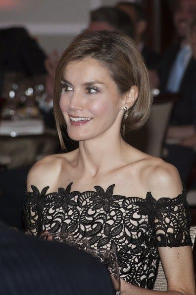 Prince Felipe and Princess Letizia attended the 'Young Businessman' National Awards 2014