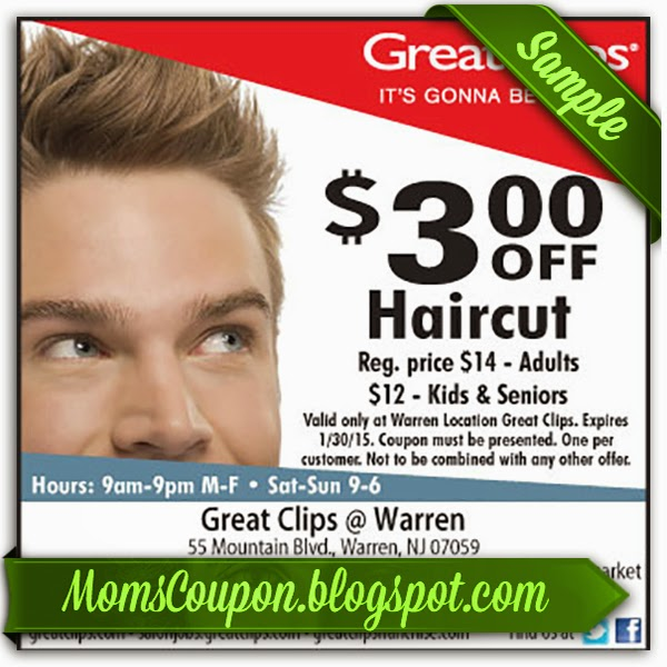 Admirable Use Free Printable Great Clips Coupons For Big Discounts Free Hairstyles For Women Draintrainus