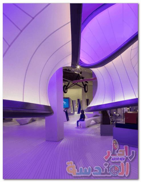 معرض ينتون صممته زها حديد يفتتح في متحف العلوم