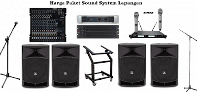 Harga Paket Sound System Lapangan