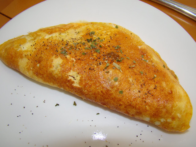 Quick Camping Omelette recipe