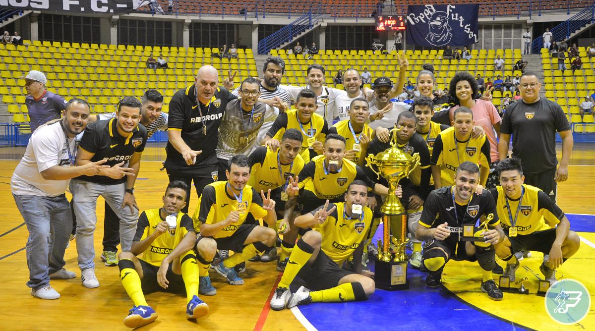 Manos FC do Jabaquara é bicampeão da UNILIGAS Sub-20