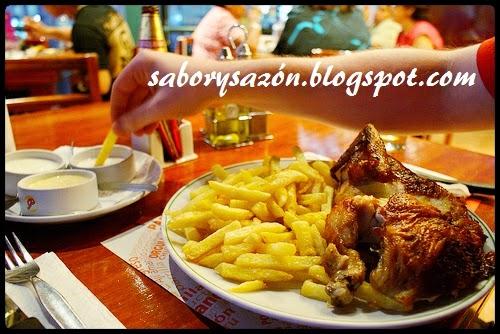 receta del delicioso pollo a la brasa a la leña o al carbón