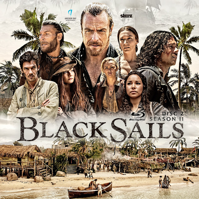 Black Sails Season 2 Disc 2 Bluray Label
